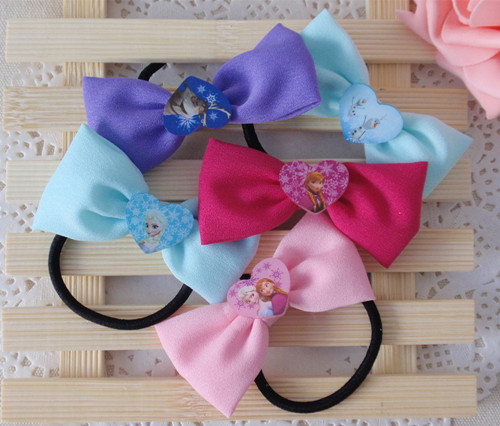 Disney hair accessories-Elsa Frozen hair band set